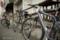 岡山市北区問屋町の風景写真 - The stopped bicycle
