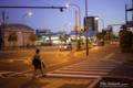 岡山市北区昭和町の風景写真 - At the time of twilight