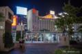 岡山市北区駅元町の風景写真 - Scenery of a bus terminal