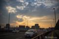 岡山市北区昭和町の風景写真 - Scenery of twilight