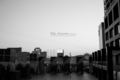 岡山市北区駅元町の風景写真 - The signboard of twilight