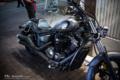 岡山市北区本町の風景写真 - The motorcycle of a street corner