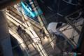 岡山市北区駅元町の風景写真 - The person of escalator