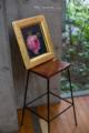 岡山市中区江並の風景写真 - A chair and pictures