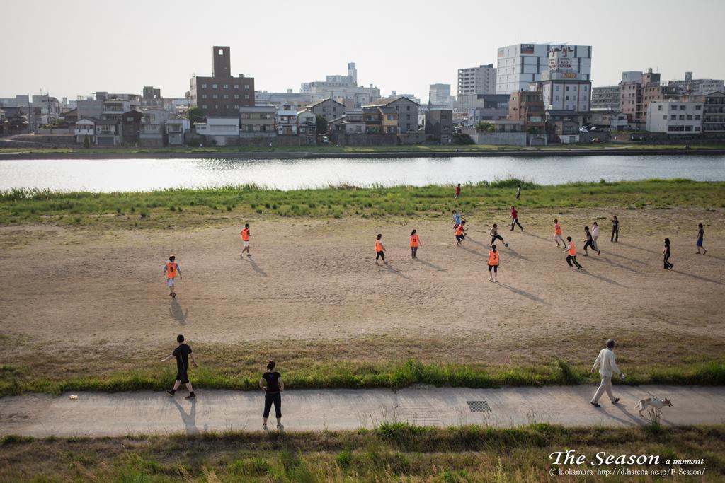 岡山市中区御幸町の風景写真 - Practice game