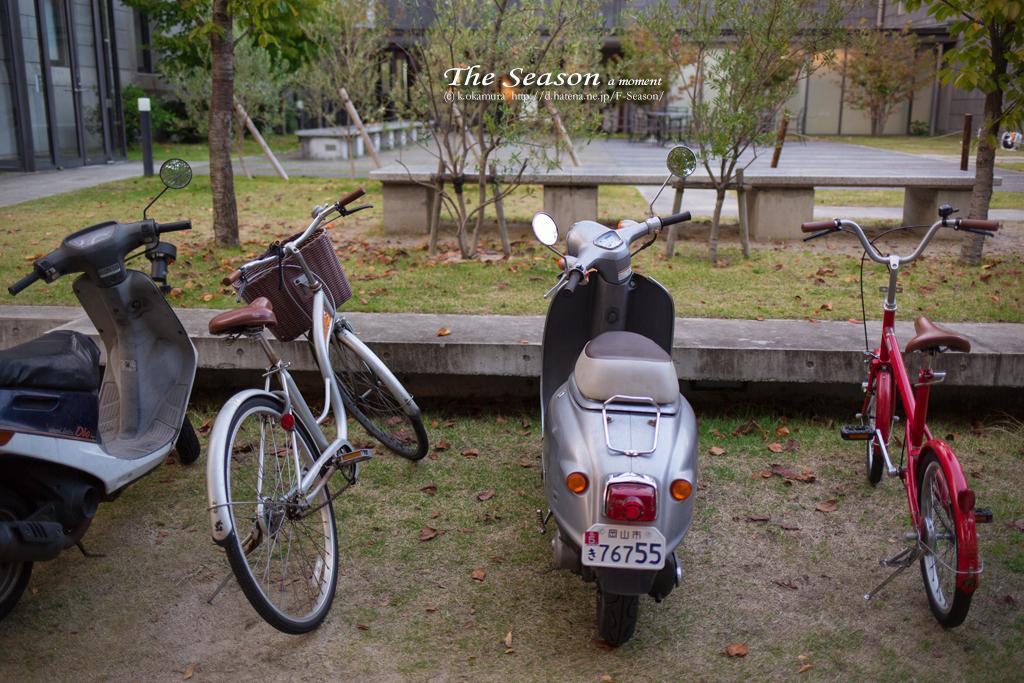 岡山市北区内山下の風景写真 - Parking lot for bicycles