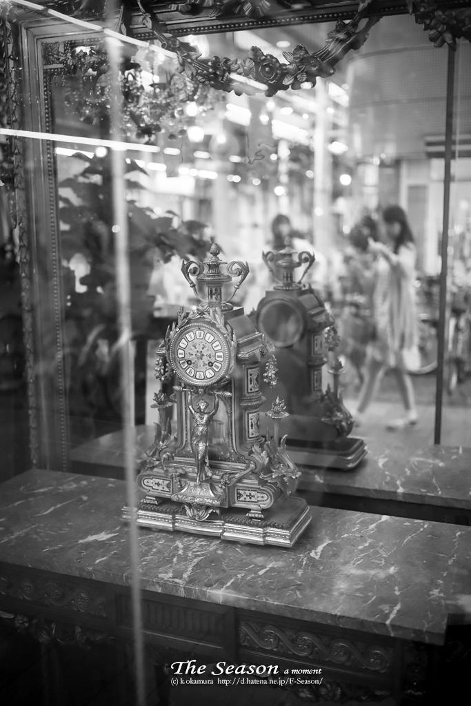 岡山市北区表町の風景写真 - Clock