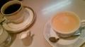 ミルクティとコーヒー(阿波座)