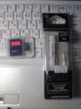 帰宅ったー iPod用マイク・コントローラー(ソフ本店)、MicroSD 2GB(バ