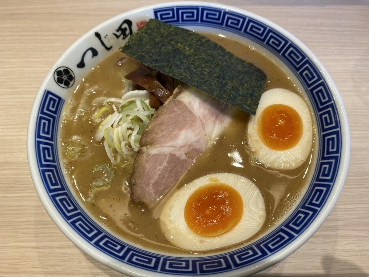 つじ田 池袋西口店 / 濃厚味玉らーめん