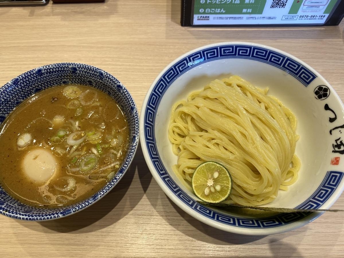 つじ田 池袋西口店 / 濃厚味玉つけ麺