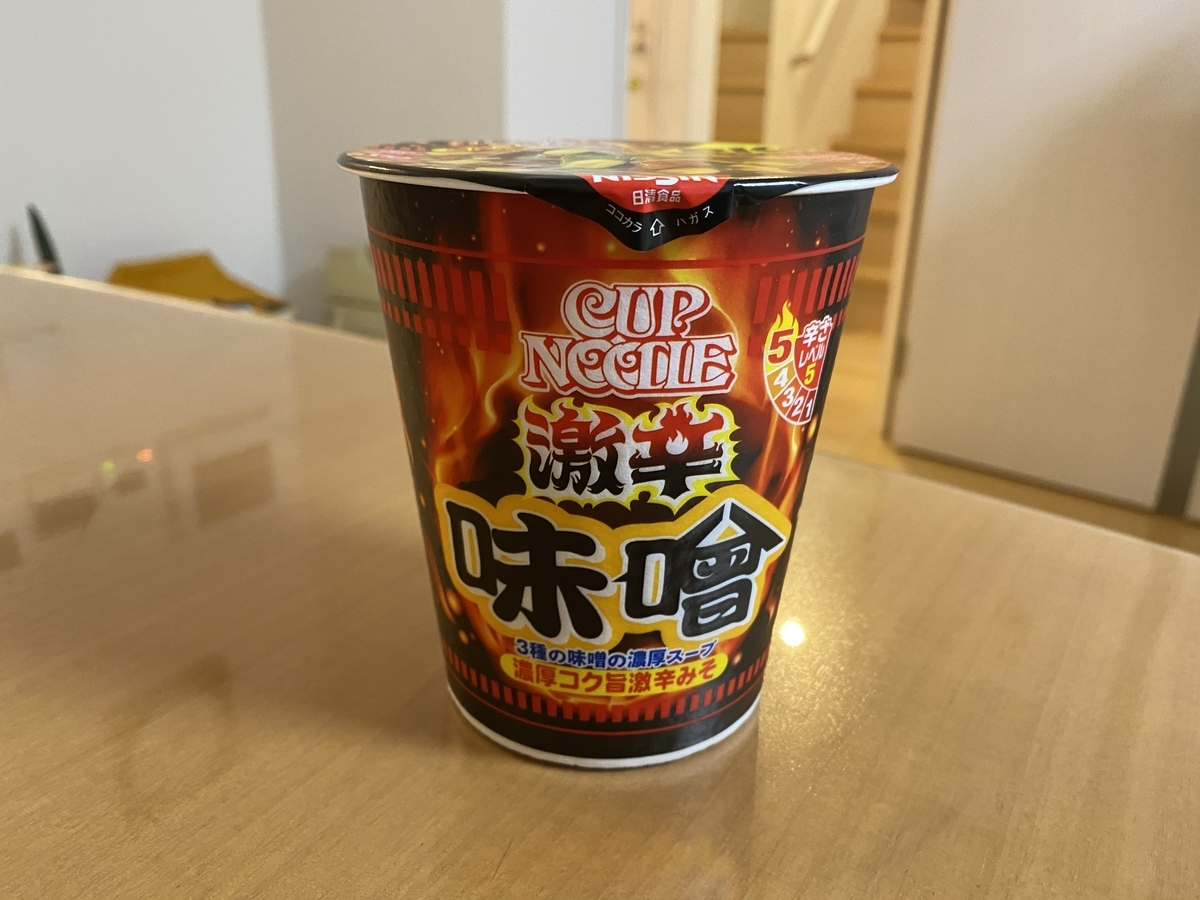 NISSIN CUP NOODLE 激辛味噌 ビッグ