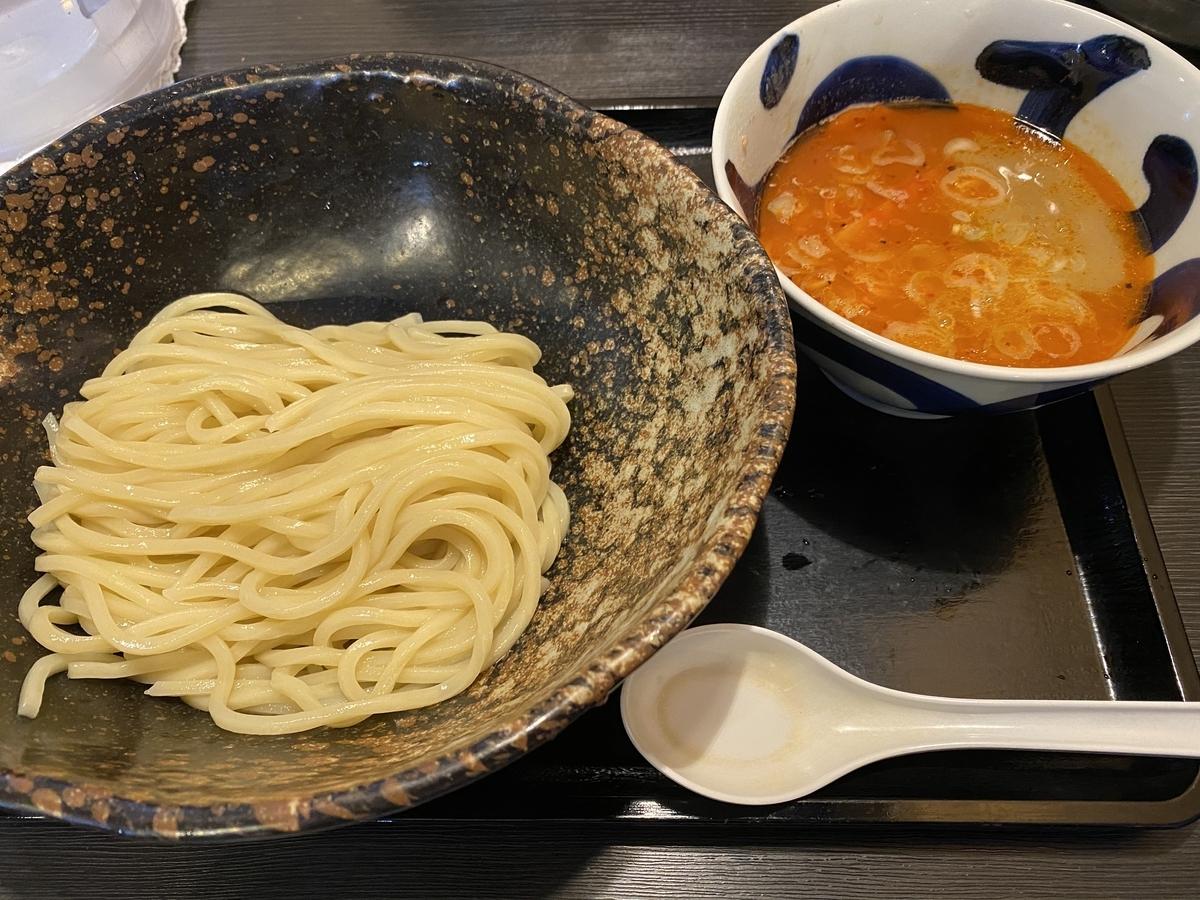 三ツ矢堂製麺 辛しつけ麺