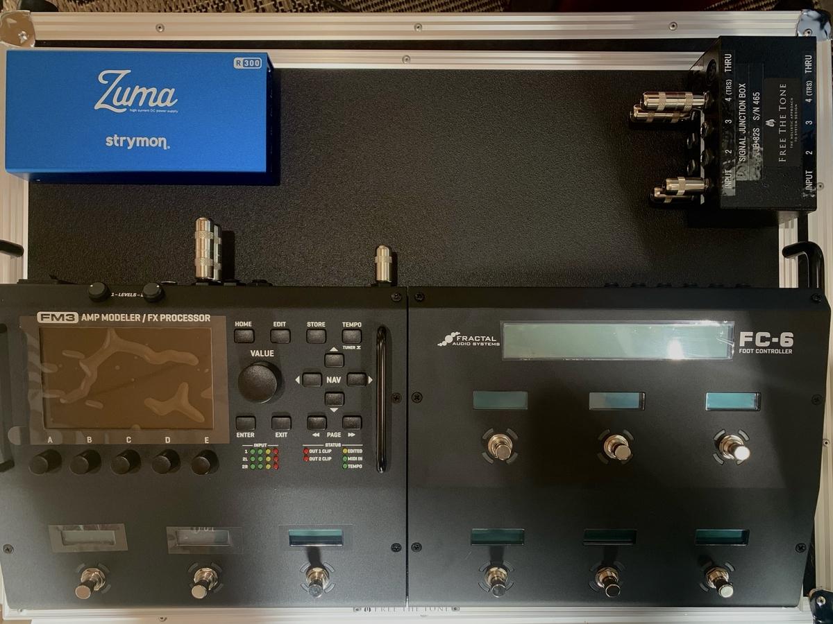 自宅システム / Fractal Audio Systems FM3 + FC-6