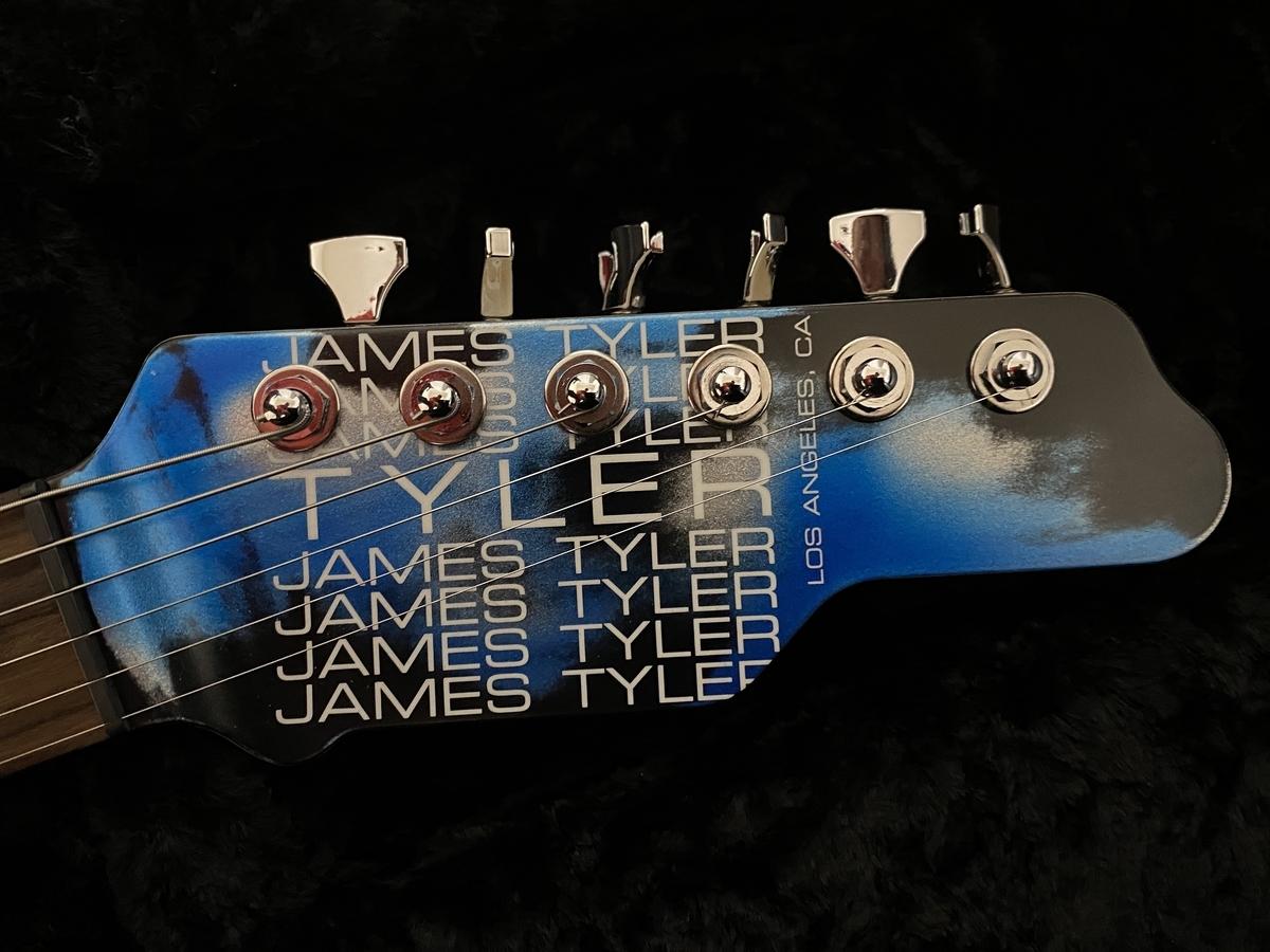James Tyler USA Studio Elite Rear Route / Black & Blue Shmear