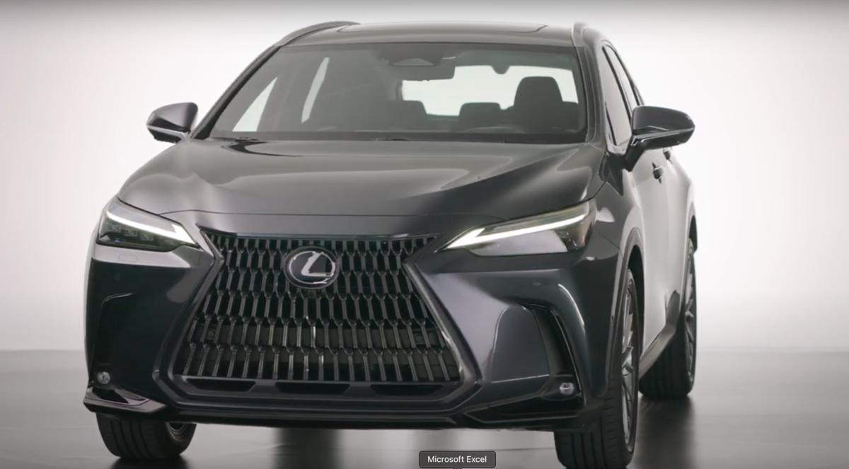 Lexus jp Channel / 新型「NX」世界初公開 -3Dデザイン編