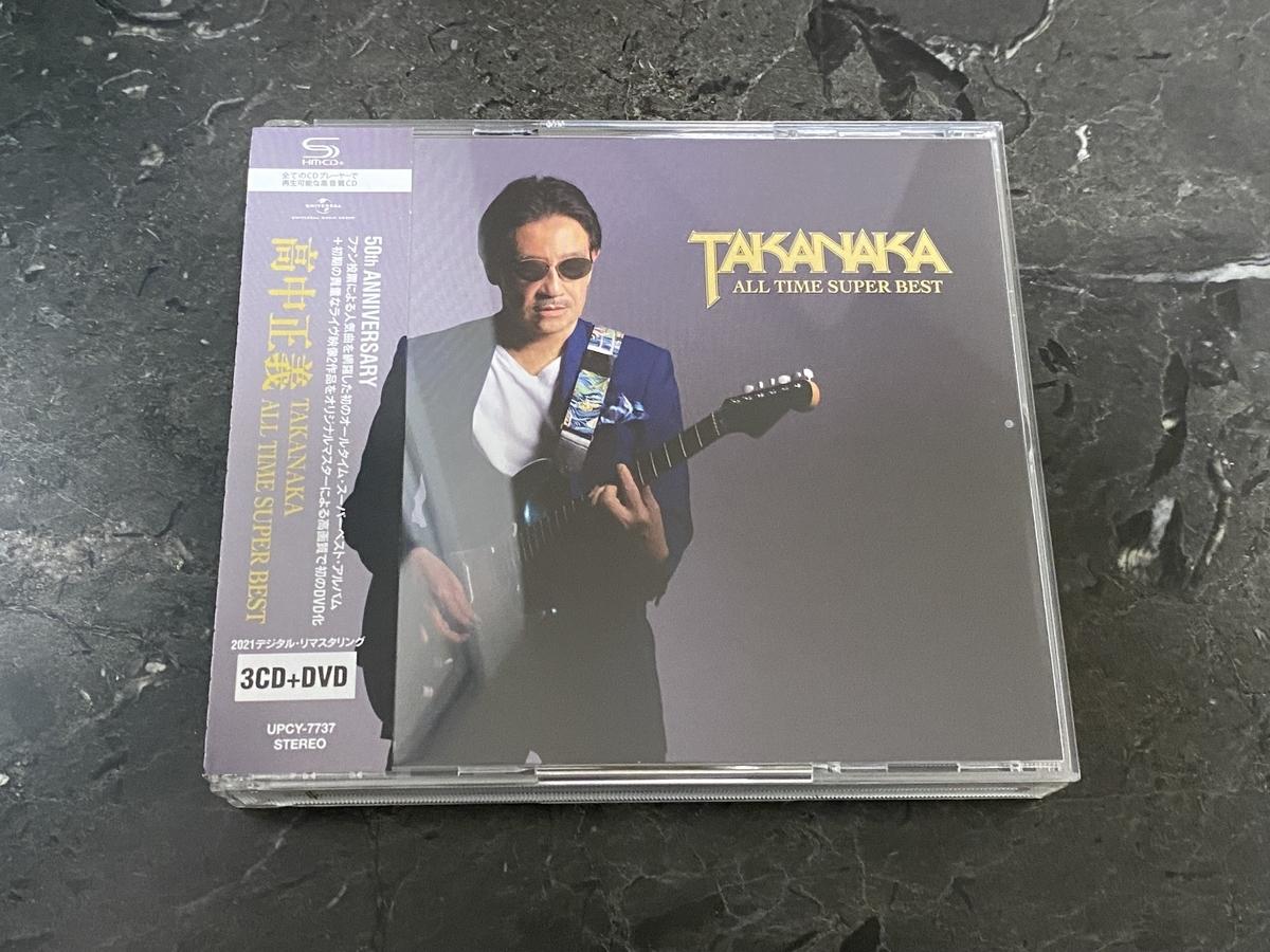 TAKANAKA ALL TIME SUPER BEST(3枚組+DVD付 特典:メガジャケ付)