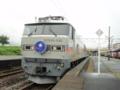 大雨の影響で藤田~福島が通れないため岩沼で放置www