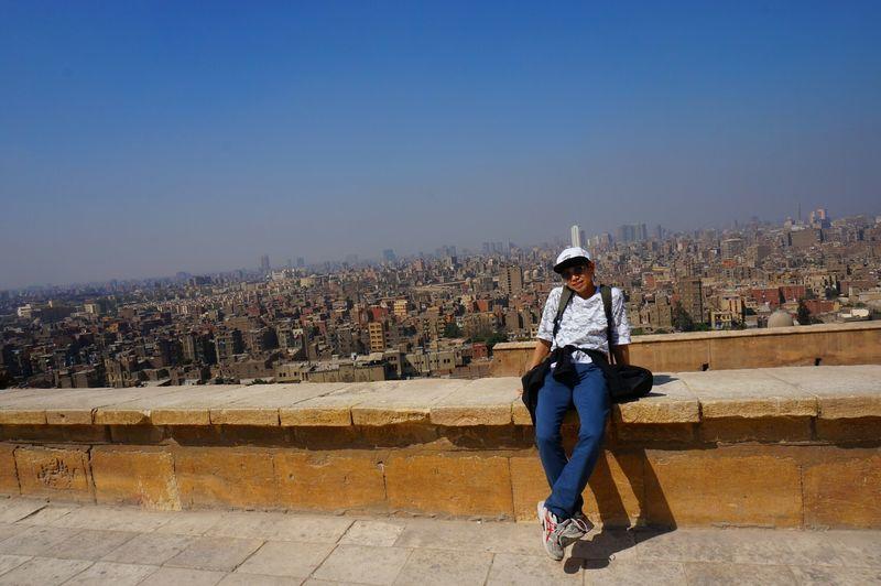 エジプト記念撮影
