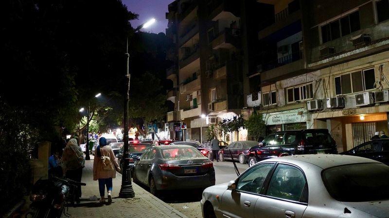 夜のカイロ