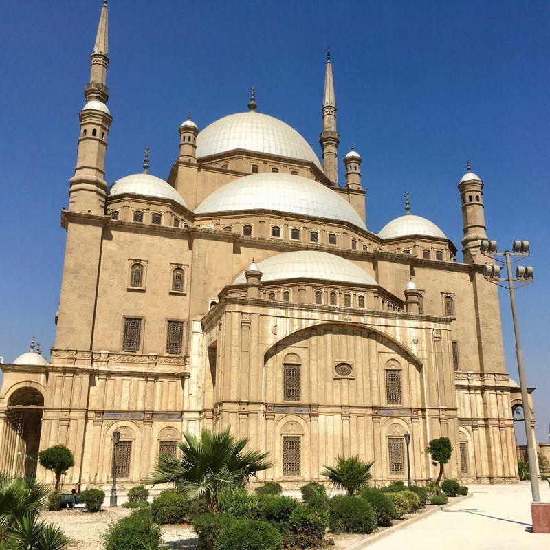 ムハンマド・アリー・モスクの表