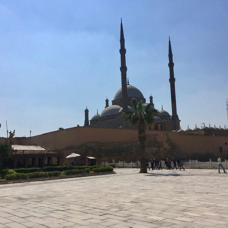 ムハンマド・アリー・モスクの裏