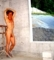 Nude on a construction site