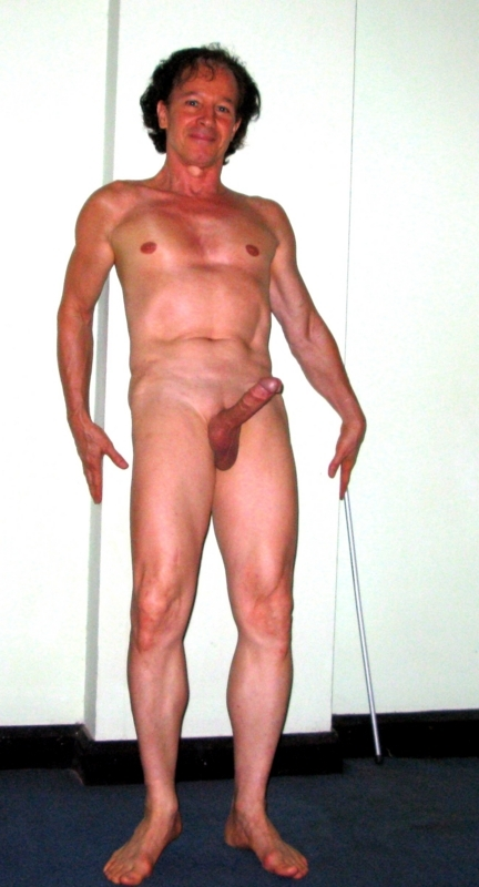 Very excited to expose myself nude shaved and so erect