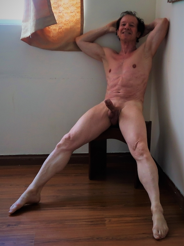 Exhibitionist so excited and erect exposed