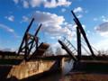 ゴッホの跳ね橋のレプリカ