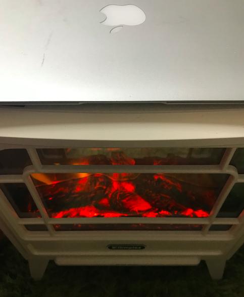 電気暖炉Mac