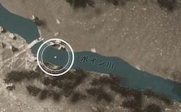 ボイン川地図