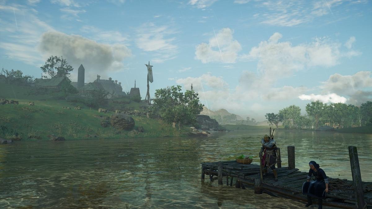 ボイン川の眺め