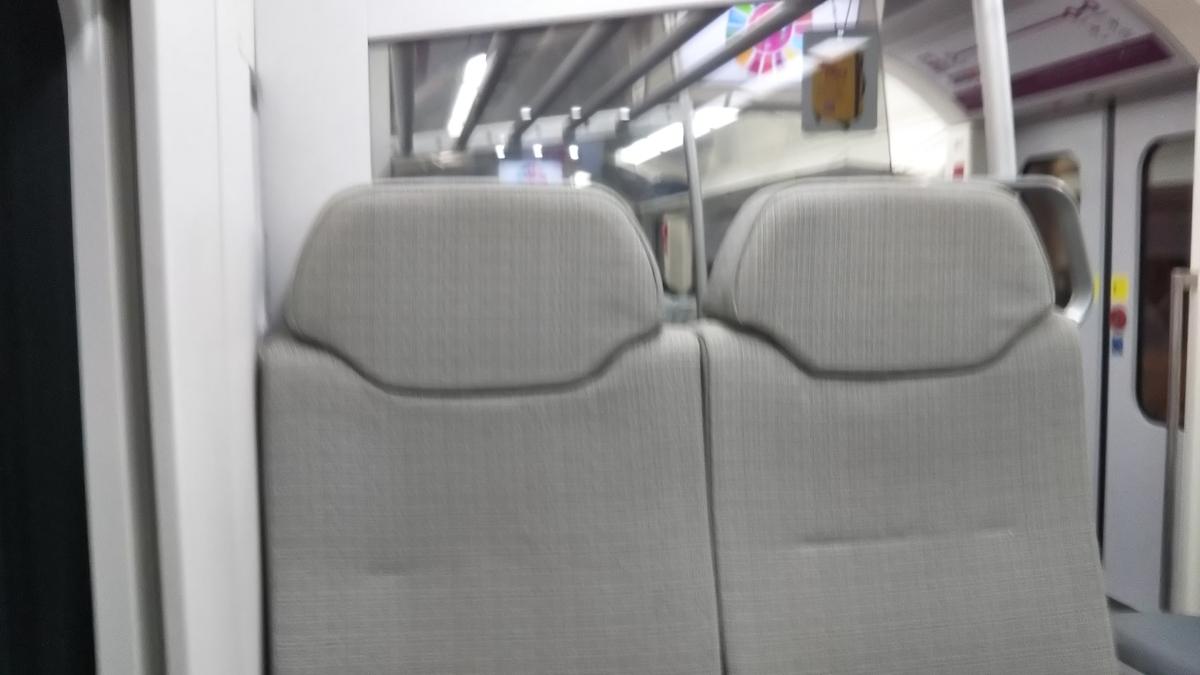 クアラルンプール 電車 車内
