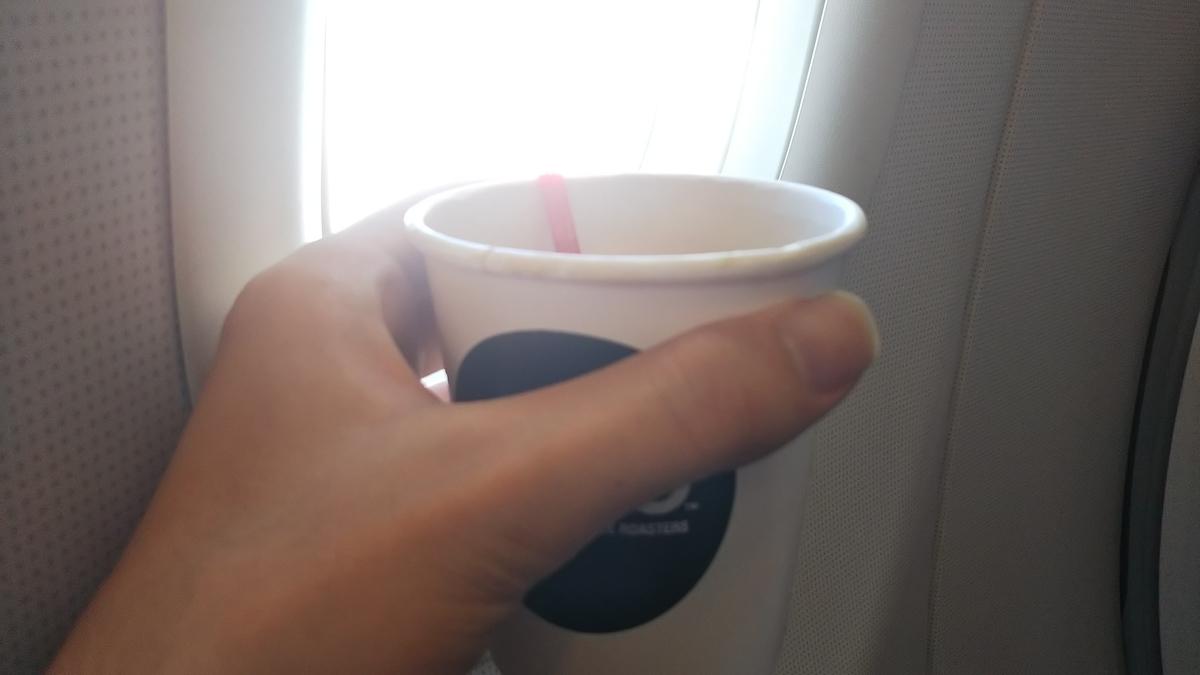 エアアジア 機内食 コーヒー