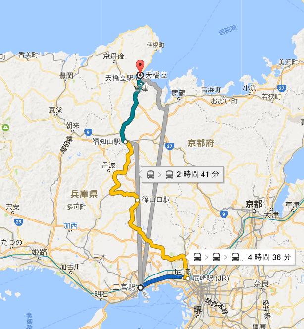【旅行】人生初の一人旅!1.5日旅行で神戸から天橋立に行ってきました!
