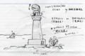 ワッハ灯台について考えてみました。