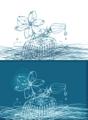 櫛の花(髪とオイル)