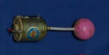 ピンクの球の