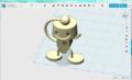 フリーソフトで3Dモデリング