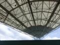 屋根…航空公園野外ステージの