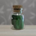 緑色のリボン