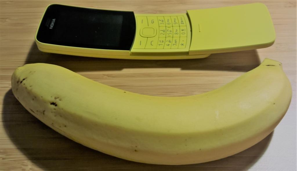 買ったら誰もが試すであろうバナナとのペア撮り
