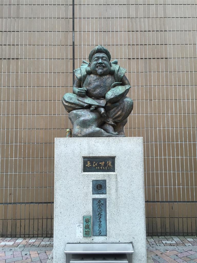 恵比寿駅前銅像