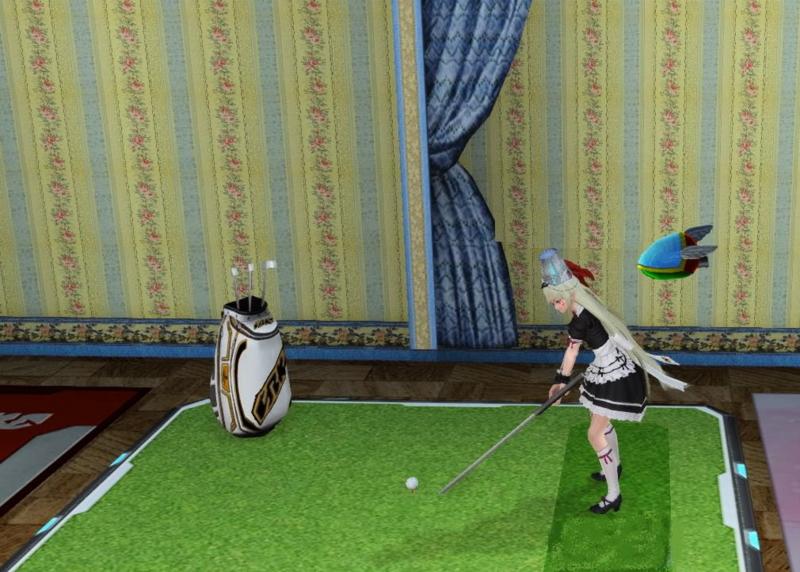 いきなりゴルフですか?
