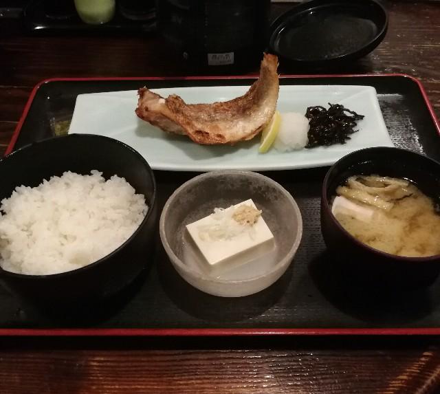 包丁や 田町駅前の焼き魚定食