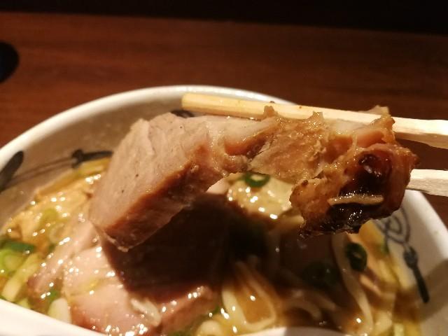 麺屋武蔵 芝浦店 武蔵ラーメンのチャーシュー