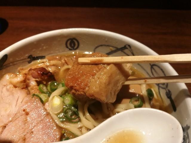 麺屋武蔵 芝浦店 武蔵ラーメンの角煮