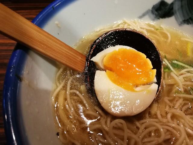 中目黒AFURI(あふり)の柚子塩ラーメン
