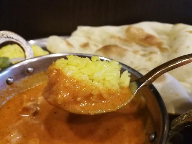 ムンバイ 三田店のバターチキンカレー